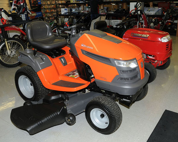 riding and push mowers for cheap